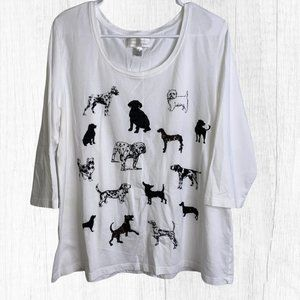 Christopher Banks Dog Breed T Shirt Size XL